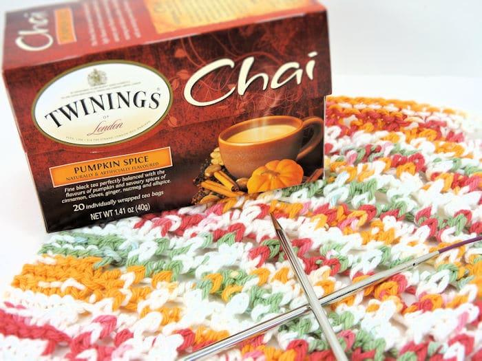 Lacy Dishcloth | CrochetKim Free Knit Pattern