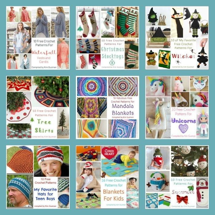 100 Free Crochet Pattern Roundups at CrochetKim