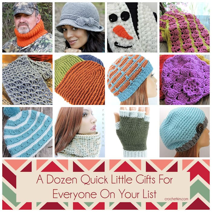 CrochetKim Free Crochet Patterns for a Dozen Quick Little Gifts for Everyone on Your List