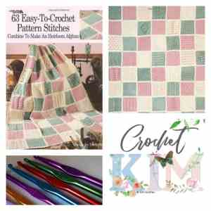CrochetKim Giveaway: 63 Easy to Crochet Stitches by Darla Sims