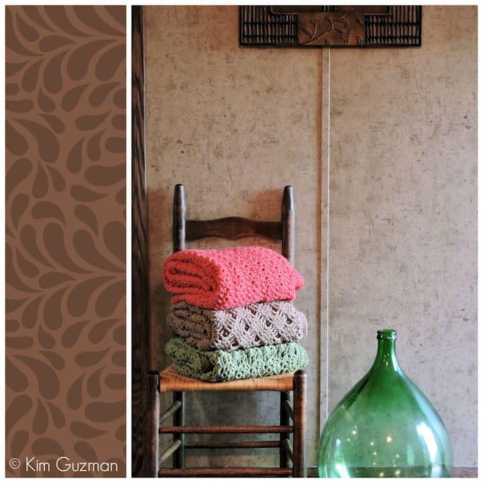 Romantic Lace Throws by CrochetKim Free Crochet Patterns