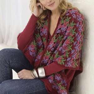 Christmas Country Wrap | CrochetKim Free Crochet Pattern