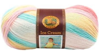 Lion Brand Ice Cream Yarn