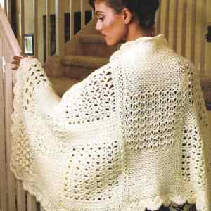 Link Blast: Free Crochet Patterns for Warm Rectangle Wraps