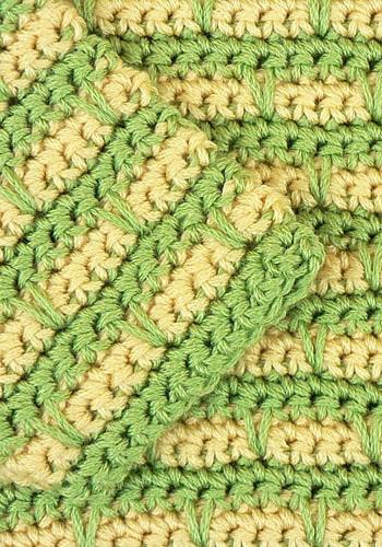 Devon Striped Baby Sweater | CrochetKim Free Crochet Pattern