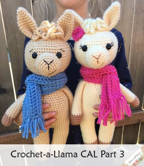 Link Blast: 10 Free Crochet Patterns for Llamas (or Alpaca)