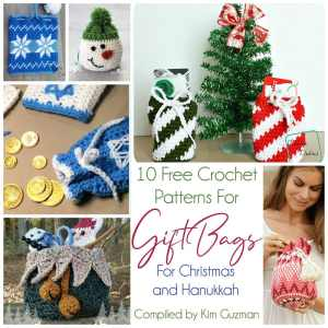 Link Blast: 10 Free Crochet Patterns for Gift Bags for Christmas and Hanukkah