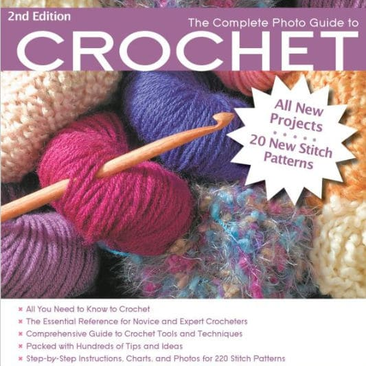 Giveaway: Complete Photo Guide to Crochet by Margaret Hubert