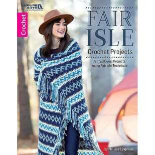 CrochetKim Giveaway: Fair Isle Crochet Projects by Melissa Leapman
