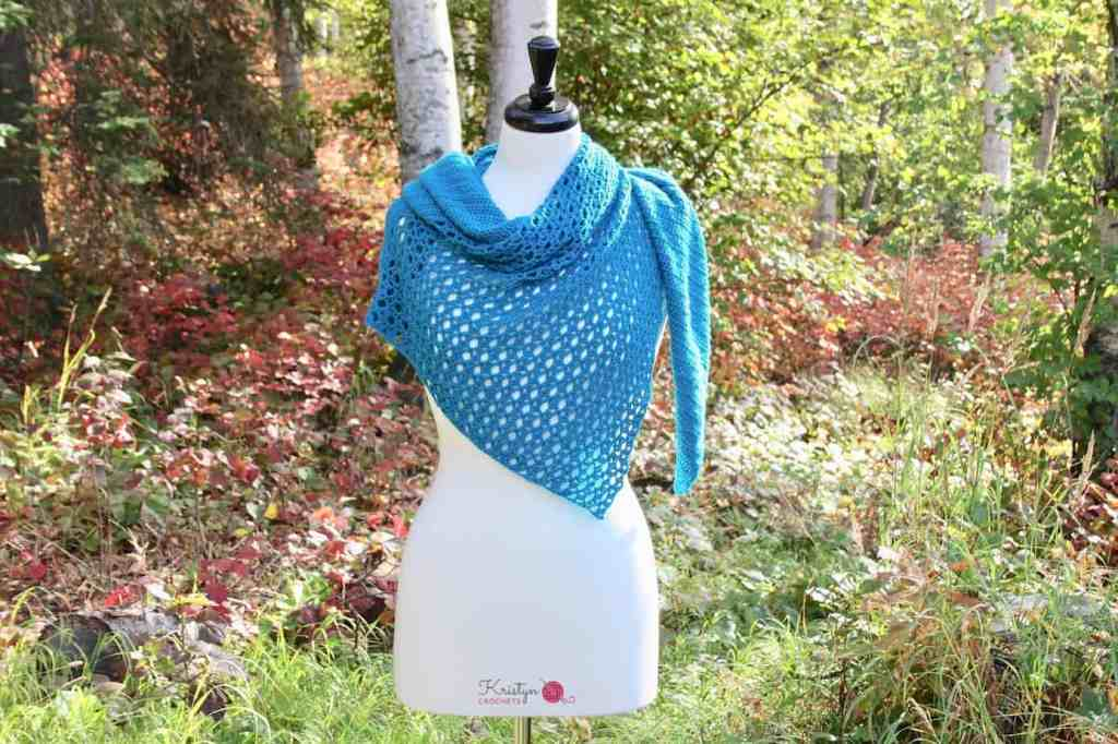 Link Blast 10 Free Crochet Patterns For Asymmetrical Shawls