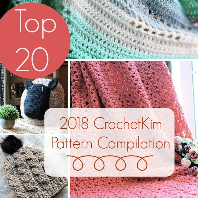 CrochetKim Giveaway: Top 20 CrochetKim Pattern Compilation for 2018