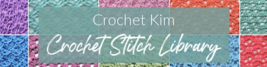 CrochetKim Free Online Crochet and Tunisian Crochet Stitch Library