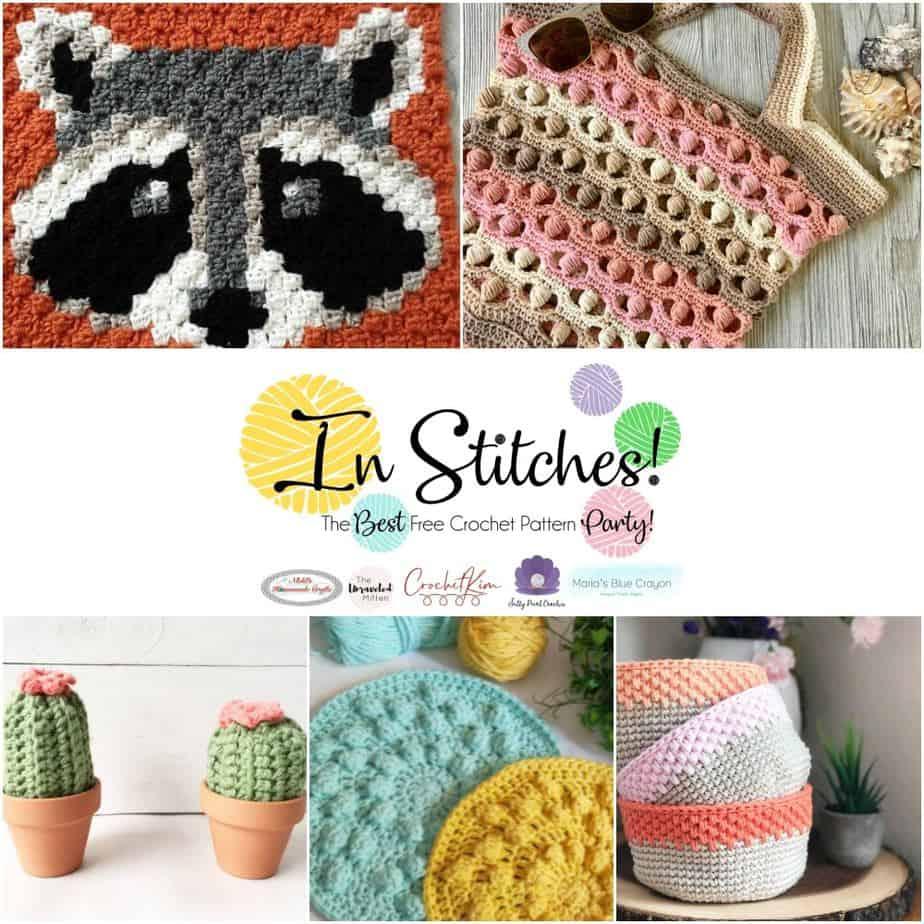 CrochetKim: In Stitches Free Crochet Pattern Party 40