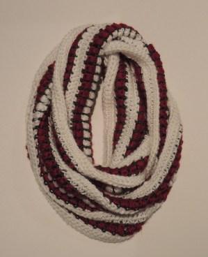 Crocheted Christmas Scarf
