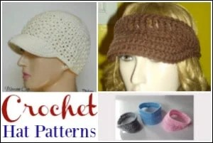 Crochet Hat Patterns for the Summer
