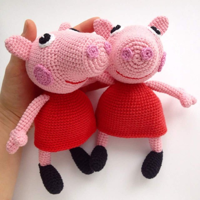 Amigurumi Crochet Patterns Peppa Pig Free Crochet Pattern Amigurumi Today Amigurumi