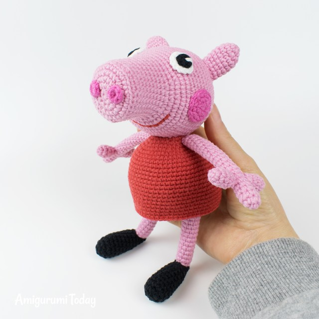 Amigurumi Crochet Patterns Peppa Pig Free Crochet Pattern Amigurumi Today
