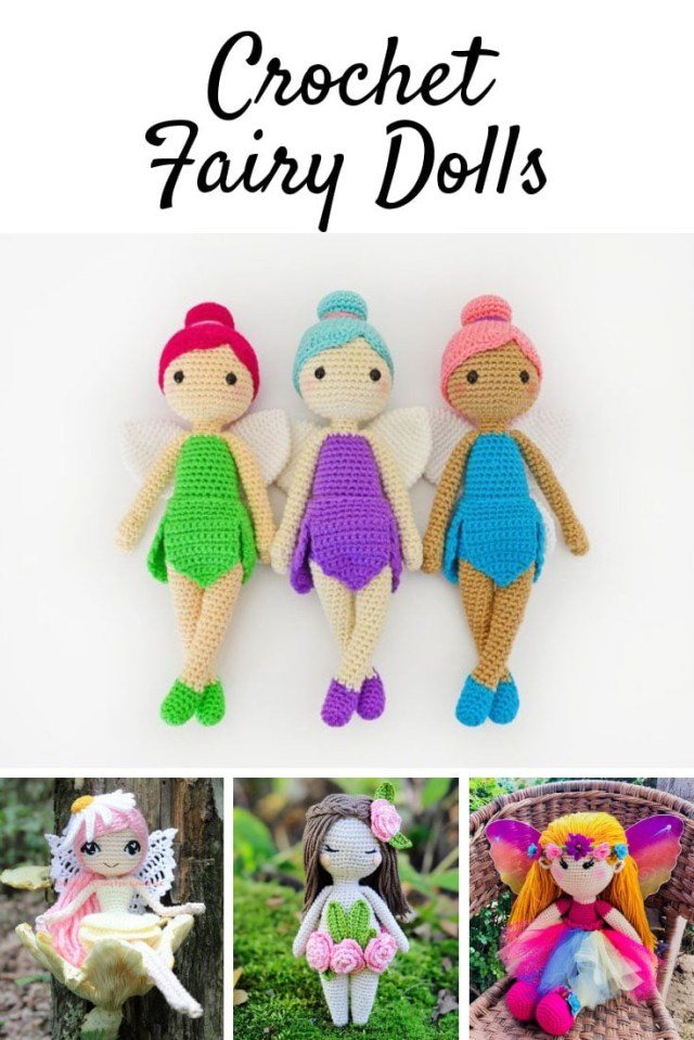 Amigurumi Doll Crochet Pattern Crochet Fairy Patterns Magical Dolls Little Girls Will Adore