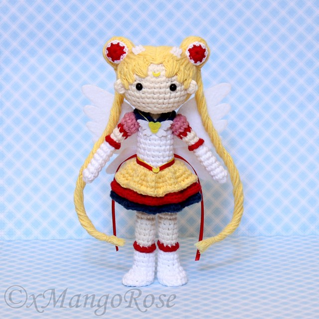 Amigurumi Doll Crochet Pattern Eternal Sailor Moon Plush Amigurumi Doll Crochet Pattern Etsy
