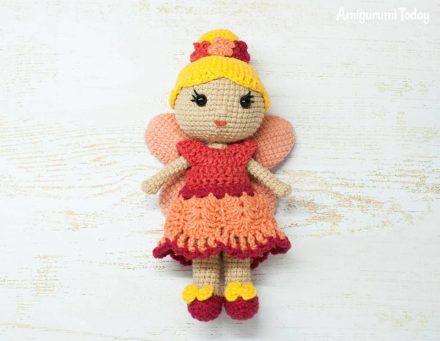 Amigurumi Doll Crochet Pattern Fairy Doll Crochet Pattern Amigurumi Today