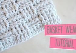 Basket Weave Crochet Pattern Crochet Basket Weave Tutorial Bella Coco Youtube