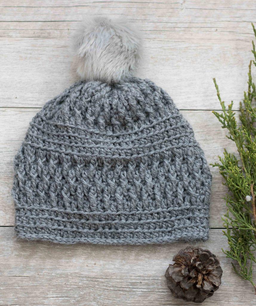 Beanie Pattern Crochet Alpaca Squishy Pom Beanie Crochet Hat Pattern Mama In A Stitch