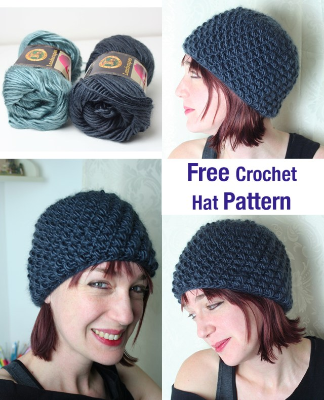 Beanie Pattern Crochet Easy Crochet Hat Pattern Lucy Kate Crochet