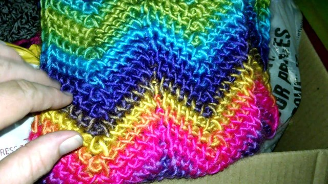Chevron Crochet Scarf Pattern Tunisian Ripple Scarf Completed Youtube