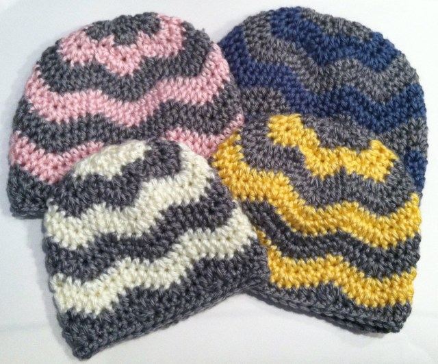Chevron Zig Zag Crochet Pattern Crochet Pattern Chevron Hat Zig Zag Hat Newborn Through Etsy