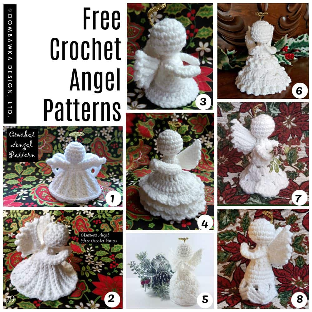 18 Free Amigurumi Christmas Angel Patterns | HubPages | 1000x1000