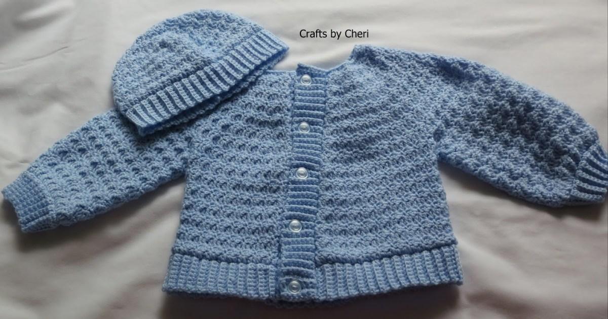 Crochet Baby Sweater Patterns Cheris Crochet Ba Or Reborn Ba Doll Clothing Or Craftscheri