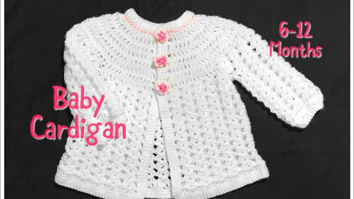 Crochet Baby Sweater Patterns Crochet Ba Cardigan Matinee Coat Or Jacket 6 12 Months Fast And