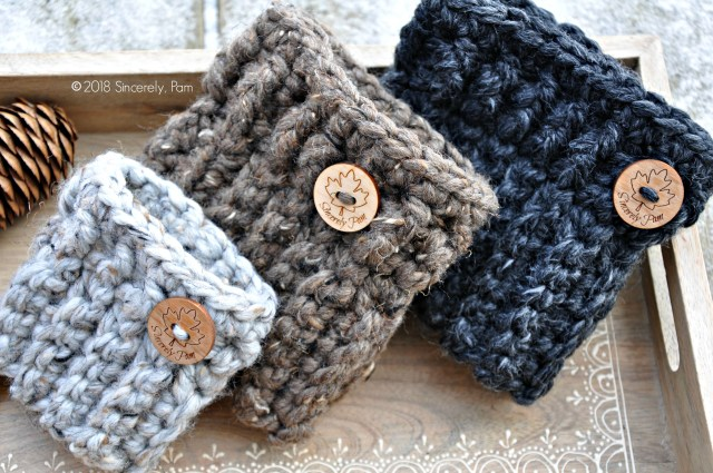 Crochet Boot Cuff Patterns Chunky Boot Cuffs Free Pattern Sincerely Pam