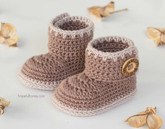 Crochet Boots Pattern For Adults 15 Adorable Ba Bootie Crochet Patterns