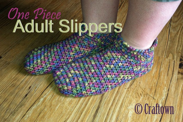Crochet Boots Pattern For Adults Free Crochet Pattern Adult One Piece Slippers