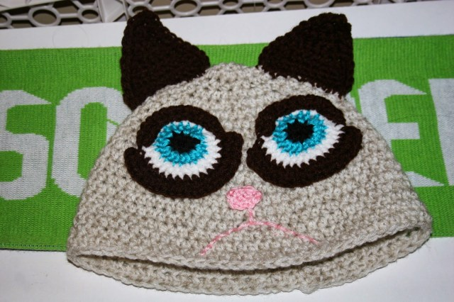 Crochet Cat Hat Pattern Cat Hats For People Free Patterns To Crochet Grandmothers