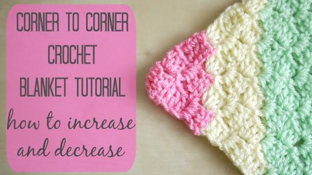Crochet Corner To Corner Blanket Pattern Crochet How To Crochet The Corner To Corner C2c Blanket Bella