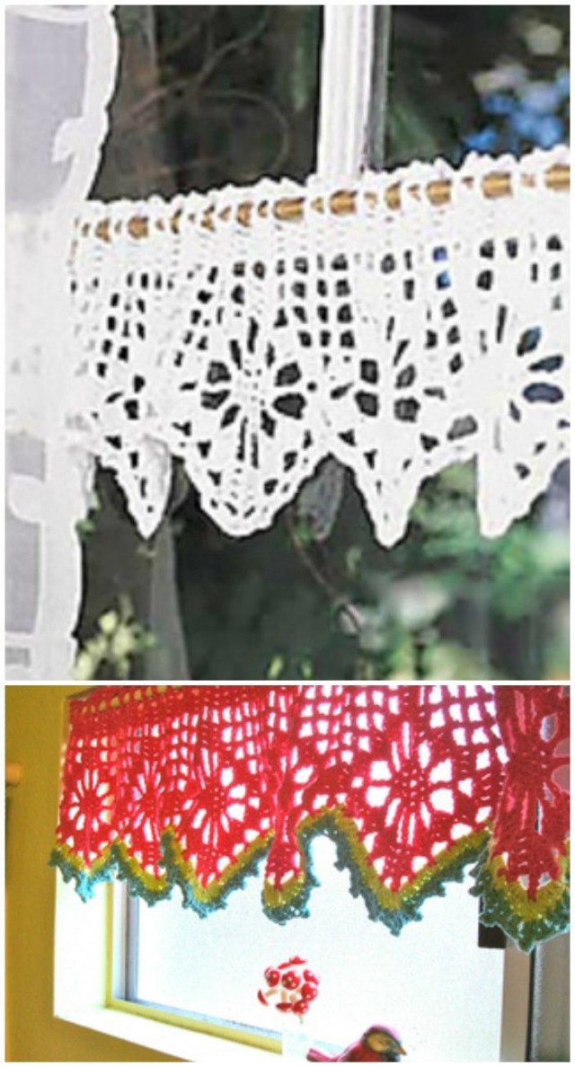 Crochet Curtain Patterns Crochet Curtain Free Patterns For Your Home Decor Free Crochet