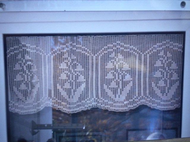 Crochet Curtain Patterns Filet Crochet Curtain Patterns Free Window Treatments Design Ideas