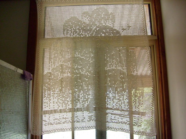 Crochet Curtain Patterns Typstatting Knitting Crochet Curtain
