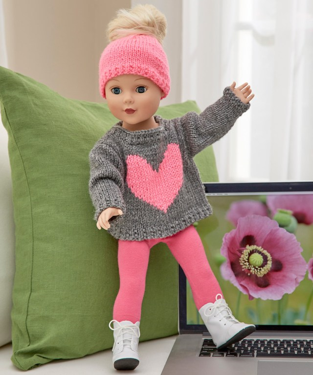 Crochet Doll Clothes Patterns Free Free Knitting Patterns For Doll Clothes 18 Ins Patterns