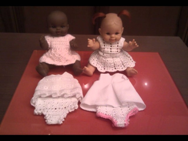 Crochet Doll Clothes Patterns Knitting Patterns Dress Crochet Doll Clothes Knitting Patterns Dress