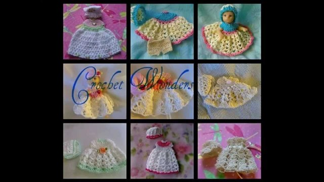 Crochet Doll Clothes Patterns Thread Crochet Doll Clothes Youtube