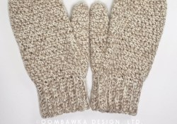 Crochet Mittens Free Pattern Daddys Simply Easy Mittens Free Crochet Pattern Oombawka Design