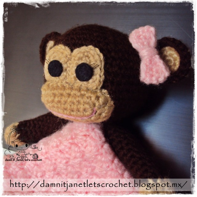 Crochet Monkey Blanket Pattern Damn It Janet Lets Crochet Monkey Security Blanket