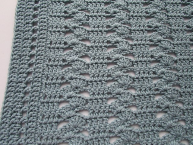 Crochet Shell Stitch Pattern Best Shell Stitch Ba Blanket Fromy Love Design How To Crochet