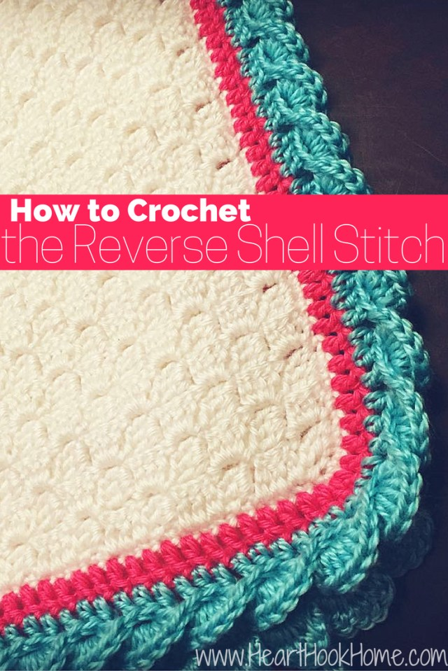 Crochet Shell Stitch Pattern How To Crochet The Reverse Shell Stitch With Photos