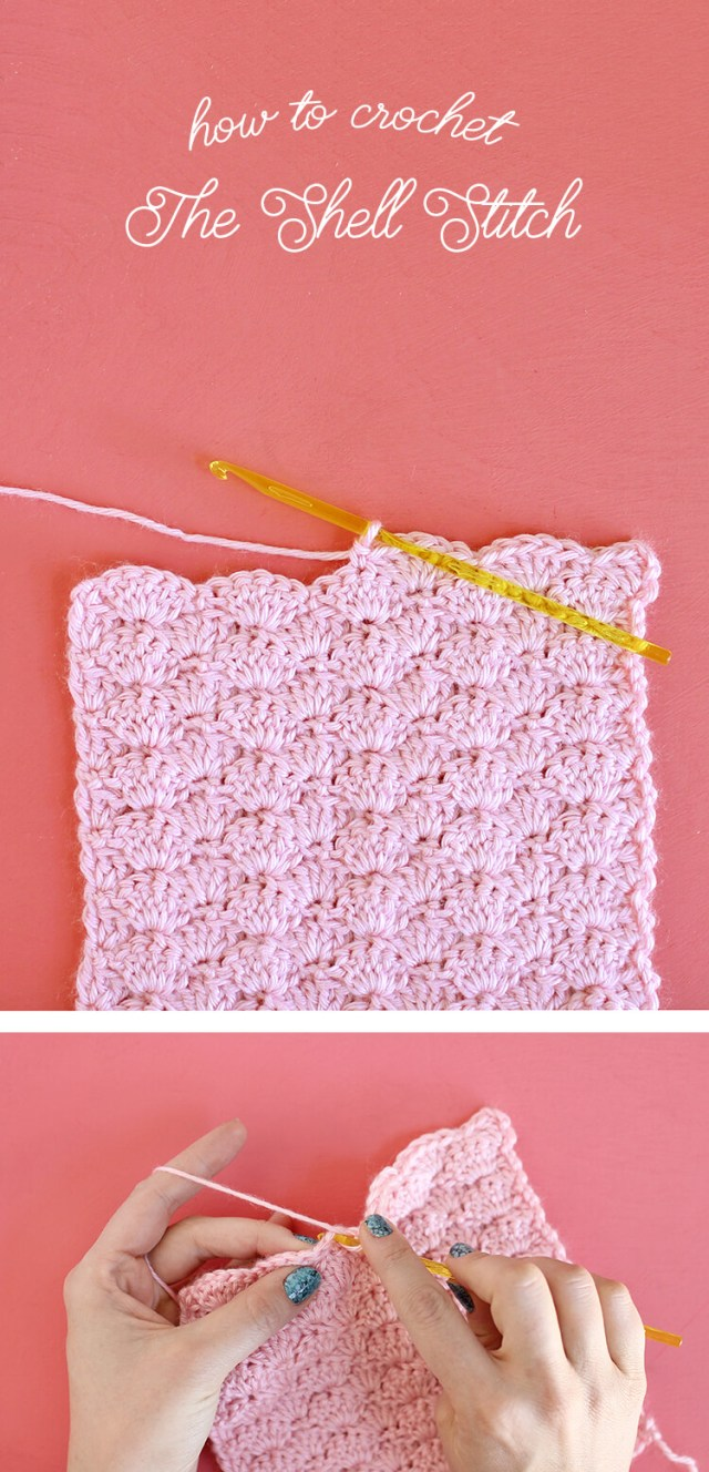 Crochet Shell Stitch Pattern How To Crochet The Shell Stitch For Beginners Persia Lou