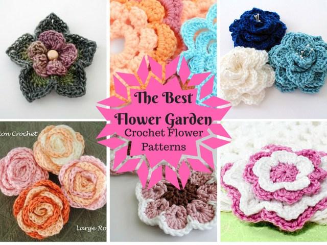 Crochet Sunflower Pattern The Best Flower Garden 25 Crochet Flower Patterns Stitch And Unwind