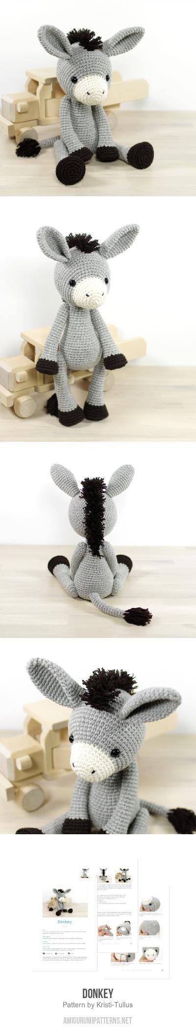 Crochet Toy Hammock Free Pattern Crochet Stuffed Animal Hammock Best Of Donkey Amigurumi Pattern